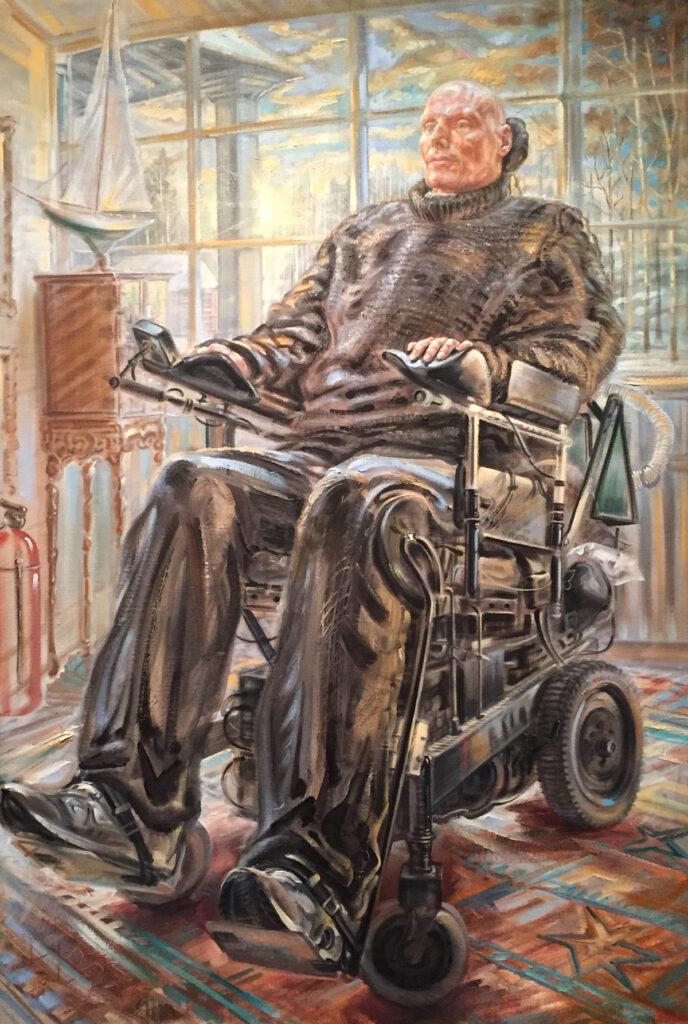 Patient in Wheel chair